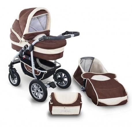 Coral wózek dziecięcy wielofunkcyjny Krasnal 2w1