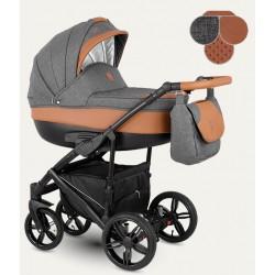 Baleo Camarelo wózek dziecięcy wielofunkcyjny 4w1 (z bazą isofix)