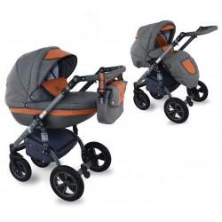 I-XEO wózek dziecięcy Krasnal wielofunkcyjny 2w1
