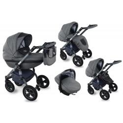 I-XEO wózek dziecięcy Krasnal wielofunkcyjny 3w1 czarny