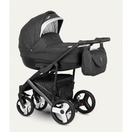 NOWOŚĆ !Baleo Camarelo wózek dziecięcy wielofunkcyjny 3w1 srebrny.