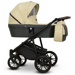 Nomi Vega wózek dziecięcy beżowy gondola + stelaż