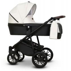 Nomi Vega wózek dziecięcy biały gondola + stelaż