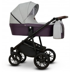 Nomi Vega wózek dziecięcy 3w1 szary