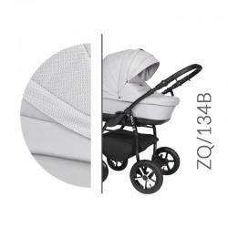Baby Merc ZipyQ  3w1 wózek dziecięcy wielofunkcyjny popielaty