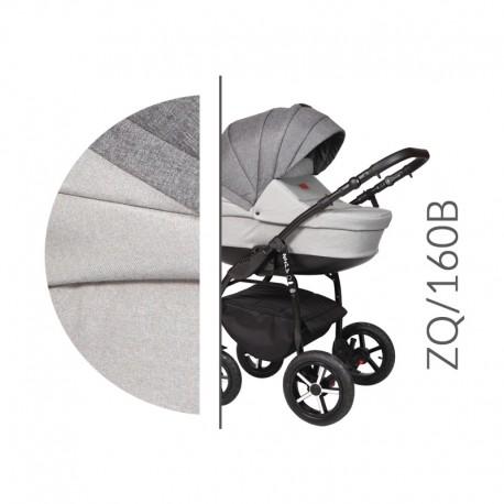 Baby Merc ZipyQ  3w1 wózek dziecięcy wielofunkcyjny szary