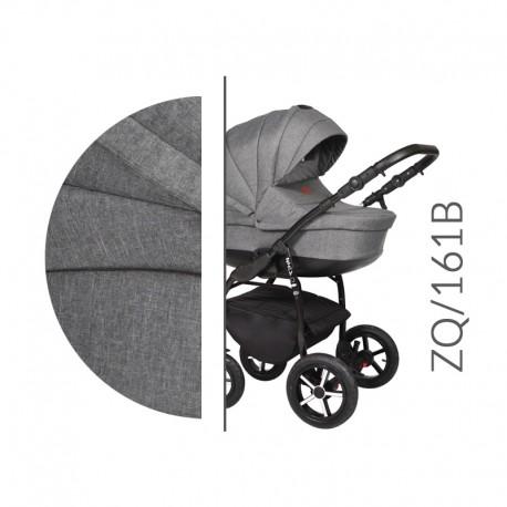 Baby Merc ZipyQ  3w1 wózek dziecięcy wielofunkcyjny ciemny szary