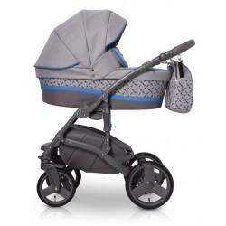 Expander Astro wózek dziecięcy wielofunkcyjny 3w1 szaro niebieski