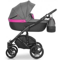 Expander Enduro wózek dziecięcy wielofunkcyjny 3w1 magenta