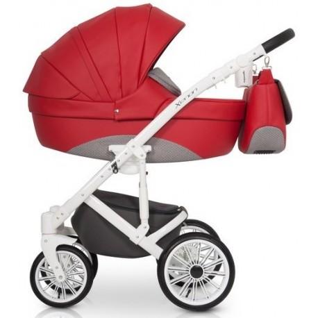 Xenon Expander wózek dziecięcy wielofunkcyjny 3w1 kolor scarlet