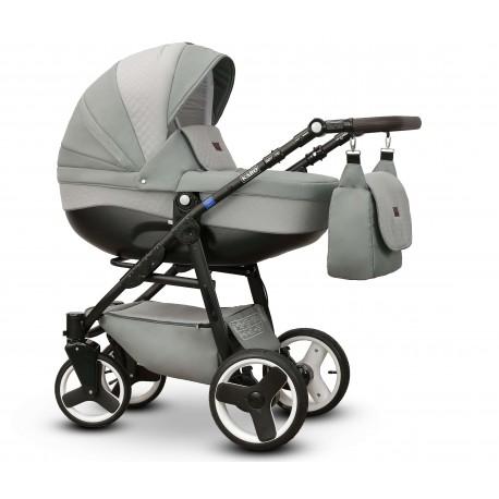 Karo Vega wózek dziecięcy wielofunkcyjny szary gondola + stelaż