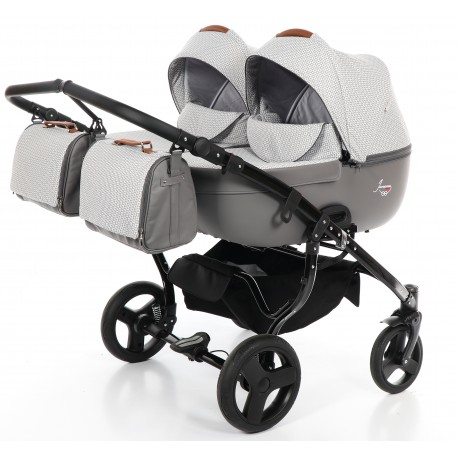Junama Madena Duo wózek dziecięcy bliźniaczy 2w1