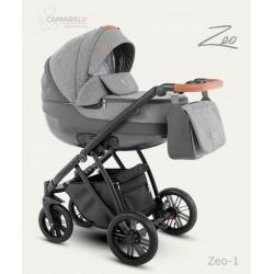 Camarelo Zeo wózek dziecięcy wielofunkcyjny 2w1 Popielaty