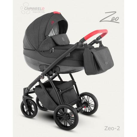 Camarelo Zeo wózek dziecięcy wielofunkcyjny 2w1 Ciemno Szary