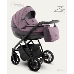 Camarelo Zeo wózek dziecięcy wielofunkcyjny 2w1 Bordo