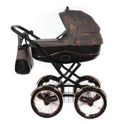 Tako klasyczny wózek dziecięcy Bella Donna 2w1 Miedziany