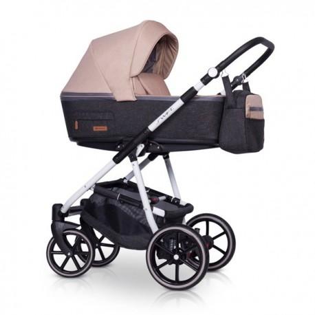 Riko Swift natural  wózek dziecięcy wielofunkcyjny 2w1 Latte