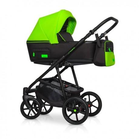 Riko Swift Neon wózek dziecięcy wielofunkcyjny 4w1 Zielony