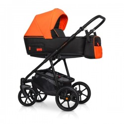 Riko Swift Neon wózek dziecięcy wielofunkcyjny 4w1 Pomarańczowy