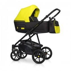 Riko Swift Neon wózek dziecięcy wielofunkcyjny 4w1 Żółty