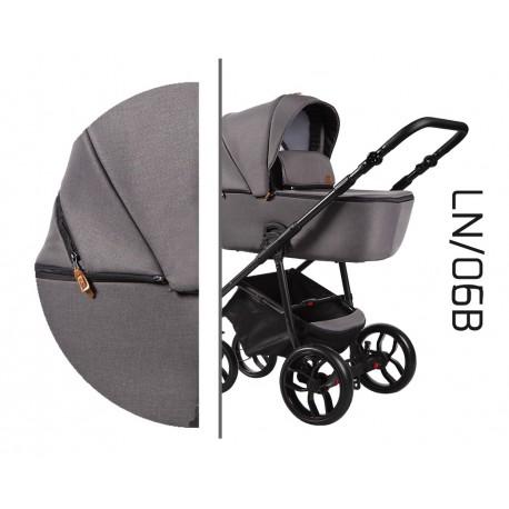 Wielofunkcyjny wózek dziecięcy La Noche Baby Merc 4w1 brązowy