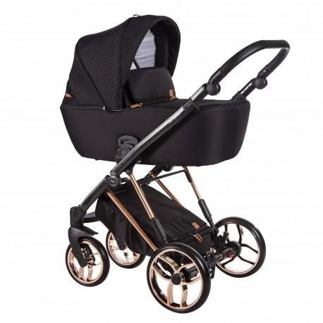 Wózek dziecięcy wielofunkcyjny La Rosa Limited Baby Merc zestaw 2w1 czarny
