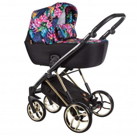 Wózek dziecięcy wielofunkcyjny La Rosa Limited Baby Merc zestaw 3w1