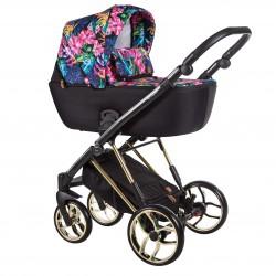 Wózek dziecięcy wielofunkcyjny La Rosa Limited Baby Merc zestaw 4w1