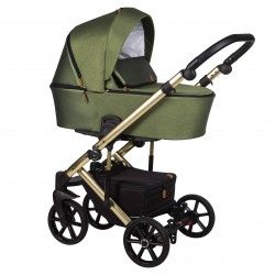 Wózek dziecięcy wielofunkcyjny Mosca Limited Baby Merc 2w1 khaki