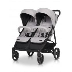 Wózek bliźniaczy spacerowy Domino EasyGO