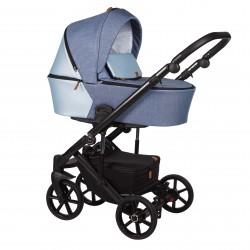 Wózek dziecięcy wielofunkcyjny Mosca Baby Merc 2w1 niebieski