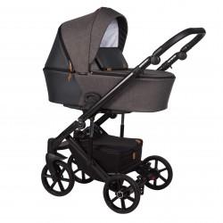 Wózek dziecięcy wielofunkcyjny Mosca Baby Merc 2w1 brązowy