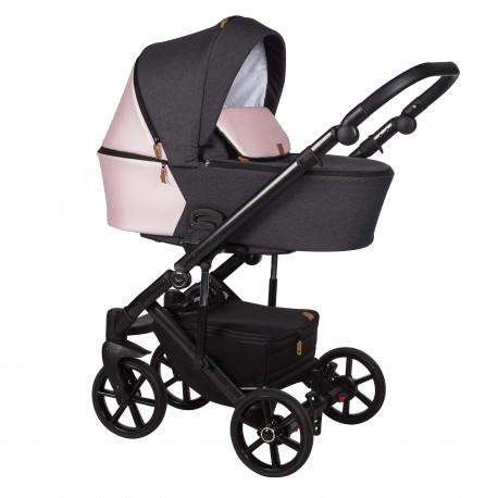 Wózek dziecięcy wielofunkcyjny Mosca Baby Merc 2w1 różowy