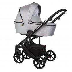 Wózek dziecięcy wielofunkcyjny Mosca Baby Merc 2w1 szary jasny