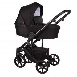 Wózek dziecięcy wielofunkcyjny Mosca Baby Merc 2w1 czarny