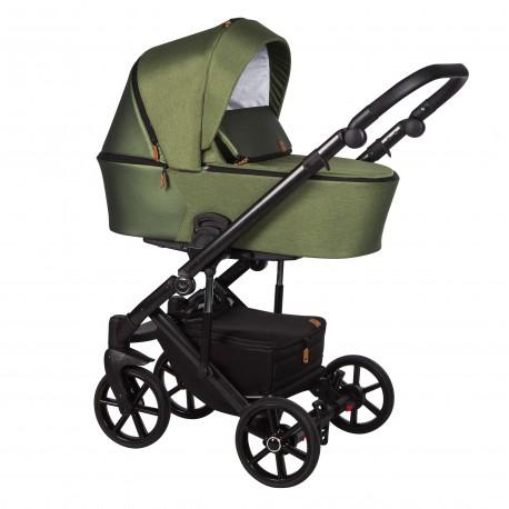 Wózek dziecięcy wielofunkcyjny Mosca Baby Merc 2w1 khaki