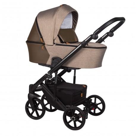 Wózek dziecięcy wielofunkcyjny Mosca Baby Merc 2w1 beżowy