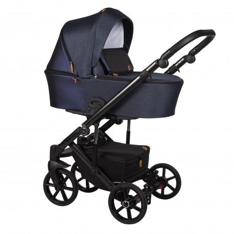 Wózek dziecięcy wielofunkcyjny Mosca Baby Merc 2w1 granatowy