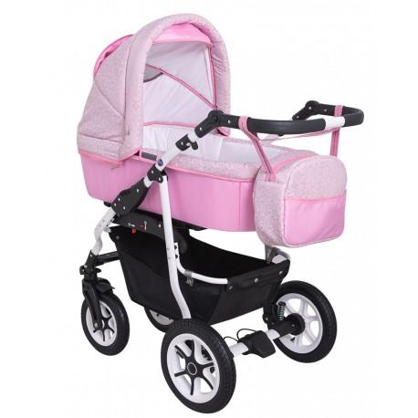 Wózek dziecięcy wielofunkcyjny Angel Krasnal 3w1