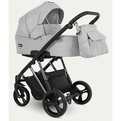 Wózek dziecięcy wielofunkcyjny Faro Camarelo 3w1 szary