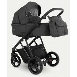 Wózek dziecięcy wielofunkcyjny Faro Camarelo 3w1 czarny