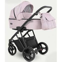 Wózek dziecięcy wielofunkcyjny Faro Camarelo 3w1 różowy