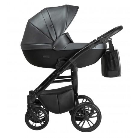 Wózek dziecięcy wielofunkcyjny Grander Play Eco Tutek 3w1 szary