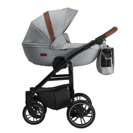 Grander Play Tutek wózek dziecięcy wielofunkcyjny 3w1 szary