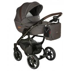 Grander Play Tutek wózek dziecięcy wielofunkcyjny 3w1 brązowy