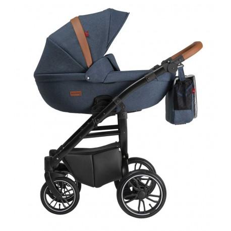 Grander Play Tutek wózek dziecięcy wielofunkcyjny 3w1 niebieski