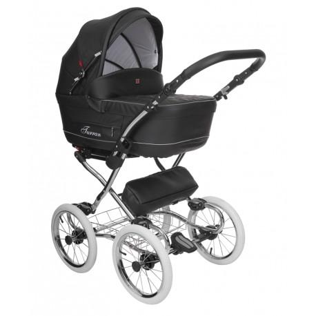 Wózek dziecięcy Turran eco Silver Tutek 4w1