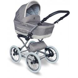 Wózek dziecięcy Turran Silver Tutek 3w1 szary
