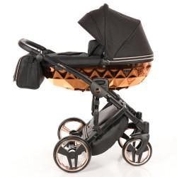 JUNAMA MIRROR Błysk wózek dziecięcy wielofunkcyjny 4w1