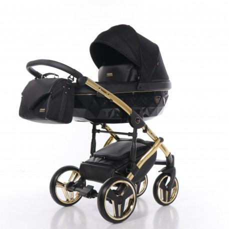 Wózek dziecięcy SAPHIRE JUNAMA 3w1 czarny